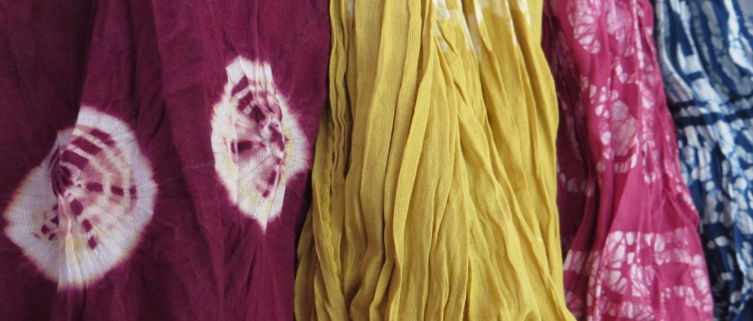 The Colours of Nature – Natural dyes & dyeing